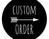 Custom Order for Sophie