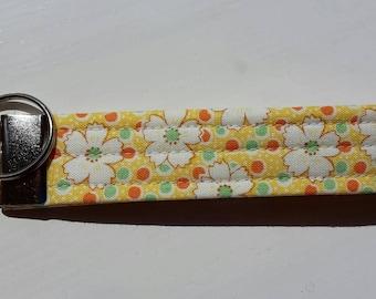 Key Fob, Fabric Key Fob, Wristlet Key Fob, Key Holder