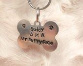 Custom Dog Tags - Custom Pet Tag - Dog Bone Tag - Personalized Dog Tag - Dog Tag for Collar - Pet ID Tags - Dog Name Tag - Pet Name Tag