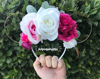 Flora - Floral Disney Ears