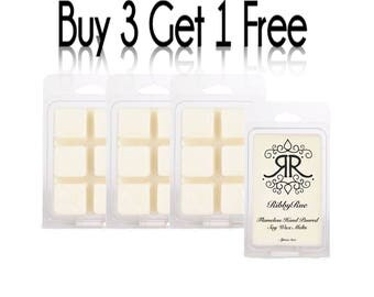 "SENSUAL AMBER Highly Concentrated Fragrance Soy Wax Melts Tarts Free Shipping Ship ""Buy 3 Get 1 FREE"""