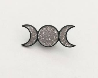 Triple Goddess Pin