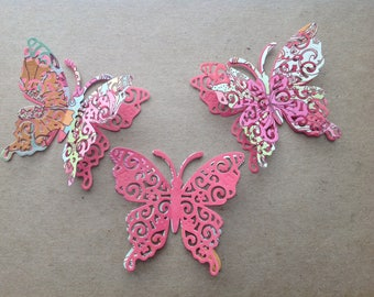 Butterfly Die Cuts - 3D - Layered - Free shipping