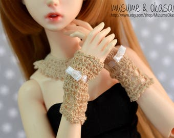 Mori Kei Lacey Set for Minifee, MSD BJD
