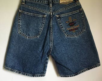 Vintage Pepe High Waisted Denim Shorts 5/6 Maggie