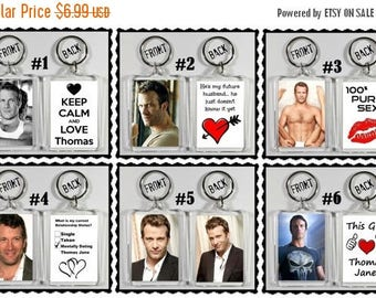 ON SALE NOW Thomas Jane Keychain Key Ring - Many Designs To Choose From Shirtless