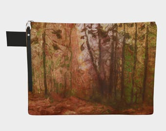 North Country at Dusk Carry All Bag Makeup bag 10 inch 12 inch 14 inch 16 inch Zipper purse cosmetic bag travel laptop cover Unisex gifts