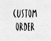 Custom Order Business Stamp
