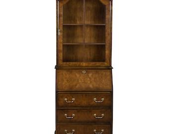 Vintage Elm Bureau Bookcase