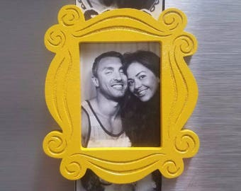 Friends TV Show Peephole Inspired small refrigerator magnet