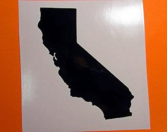 California vinyl sticker decal, California gift, car decal, laptop decal, tumbler decal