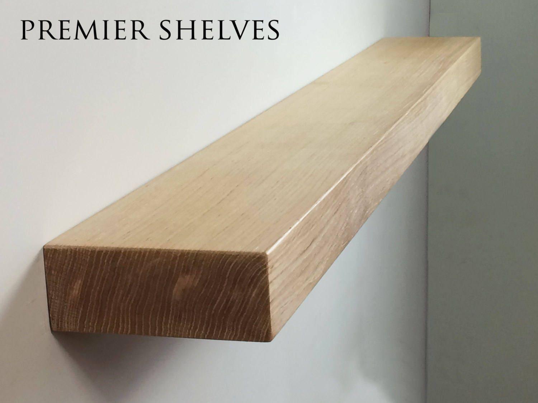floating shelves oak beam mantel 15 x 6cm handmade up to. Black Bedroom Furniture Sets. Home Design Ideas