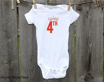 4th of July Fireworks Onesies®