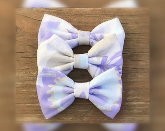 pastel/butterfly/ladybug/flowers/hair clip/Bows/Headbands/Girls