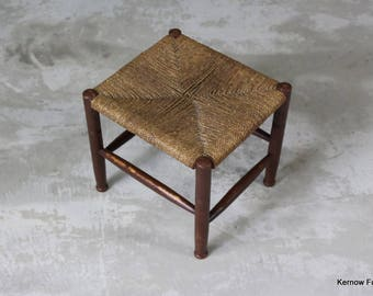 Vintage Square Foot Stool