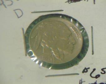 1938 D Buffalo Nickel (HJ56)