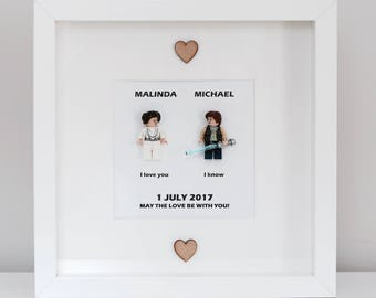 Star Wars Wedding Gift Frame