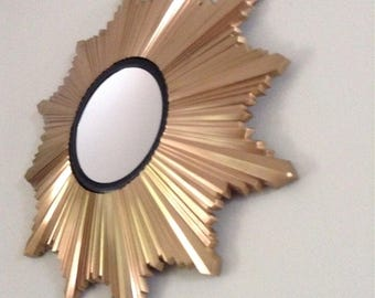 60u0027s wall decor sunburst mirror