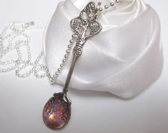 Necklace fairy spoon