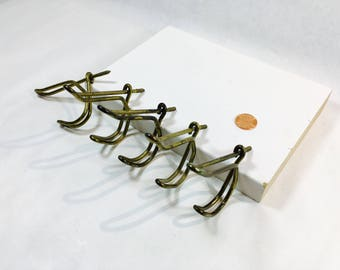 Screw In Wall Hooks vintage screw hook | etsy