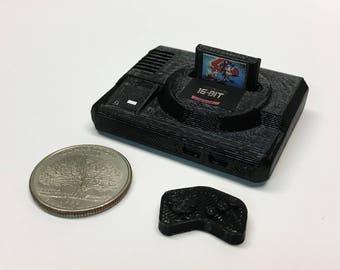 Mini SEGA Megadrive - 3D Printed!