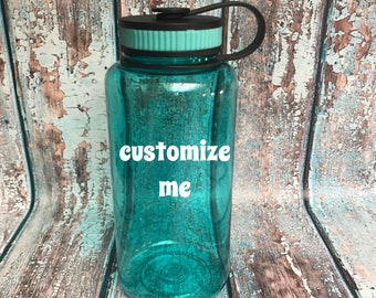 ON SALE Personalized water bottle - Christmas gift for best friend - workout water bottles - funny water bottles - custom drink ware