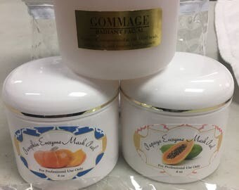 Gommage Radiant facial Mask pack 3