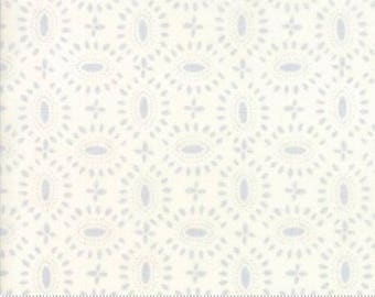 Moda BLOOMSBURY by Franny and Jane-floral broach in natural-(47515 12)-by the YARD