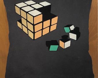 Rubix Cube throw pillow