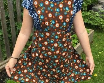 Vintage floral apron