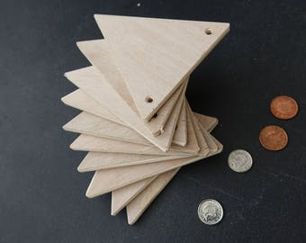 Wooden Bunting Blanks