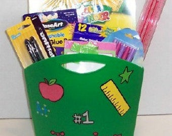 Teacher's Filled Classroom Tote