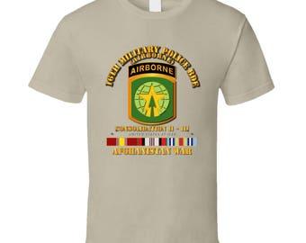 Army - 16th Mp Bde - Afghanistan War W Svc T-shirt