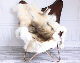 Reindeer Hide | Reindeer Rug | Reindeer Skin | Throw XL Large - Scandinavian Style #15RE14