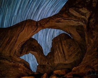 Photo Art - Night Photography - Arches