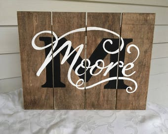 Customized Wood Pallet Sign