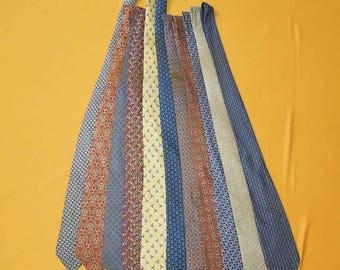Lot Of 11 Hermes Tie Pure Silk Various Colour & Pattern Vintage Designer Dress Necktie Made In France