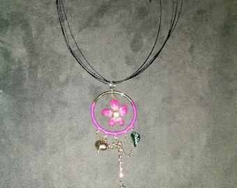 Hippie choker necklace