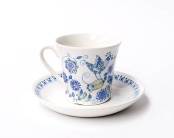Figgjo Lotte Norway, Coffee Cup & Saucer Duo (smaller cup)