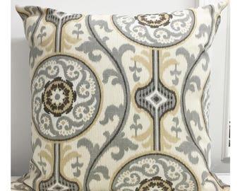 Pillow covers  Zipper Closure ikat pillow cover Euro Shams Throw Pillow lumbar 14x14 16x16 18x18 20x20 22x22 24x24 26x26
