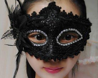 Halloween, Masquerade Mask,Womens Masquerade Mask ,Several color choices