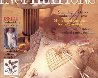 Inspirations No. 16 1997 - PDF ebook - Embroidery ebook - instant download Digital book/magazine