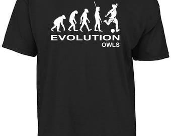 Sheffield - Evolution Owls t-shirt