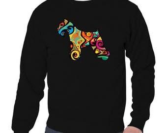 Psychedelic Miniature Schnauzer Sweatshirt