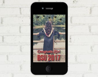Graduation Party Snapchat Filter