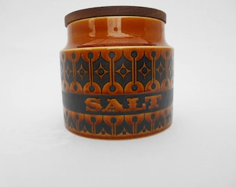 Retro Hornsea Heirloom Salt Canister / Jar  #10348