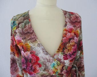 Wrap dress, Farrah ' ' single piece size 34/36