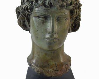 Antinous, Antinoos Bronze statue bust