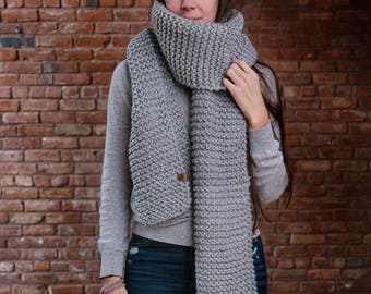 Giant adult scarf
