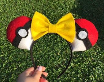Pokemon Pokeball Headband
